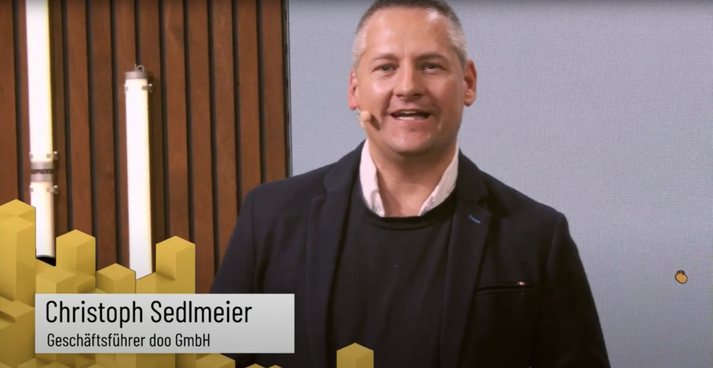Christoph Sedlmeir Geschäftsführer doo GmbH
