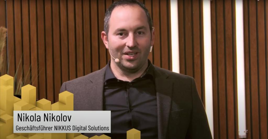 Nikola Nikolov Geschäftsführer Nikkus Digital Solutions