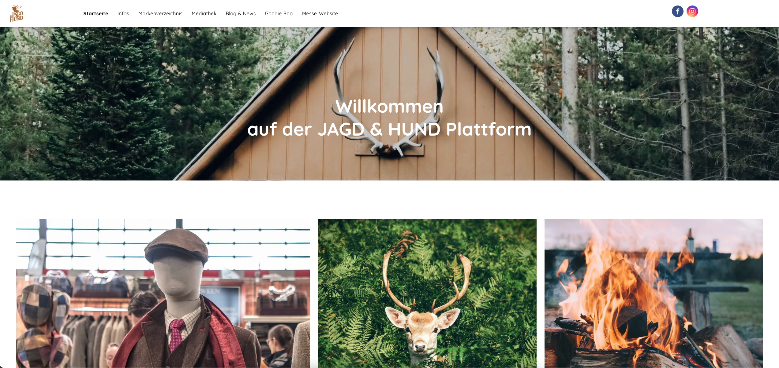 Digitale Messe Plattform Jagd & Hund
