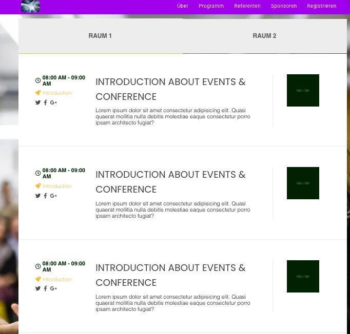 doo Webseiten Agenda